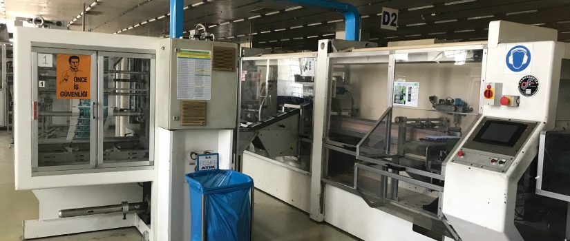 Fameccanica sanitary napkin machine