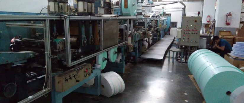 used baby diaper machine