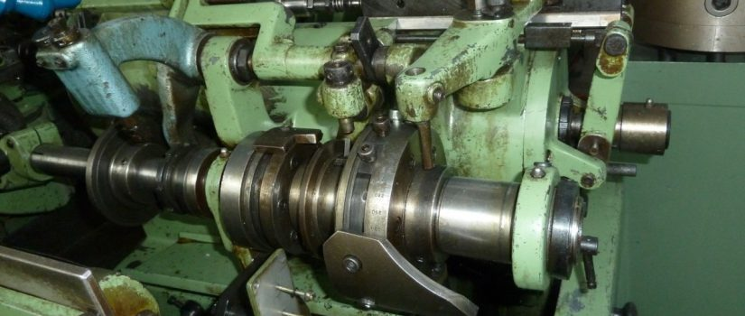 Bechler Swiss type automatic lathes