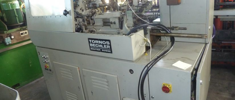 Tornos Machine; Swiss Type Automatic Lathe