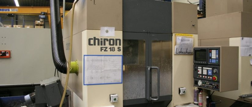 Chiron FZ 18 Vertical Machining Center-SM17