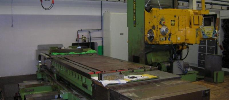 Giddings Lewis Table Type Boring Milling Machine