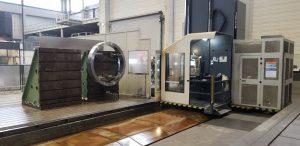 MTE Floor type milling machine