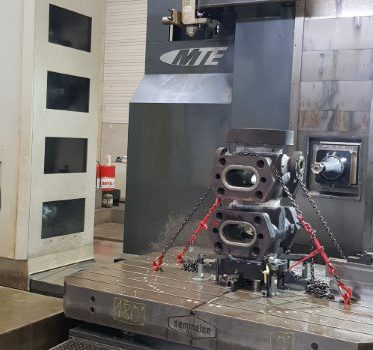 MTE Floor Type Milling Machine