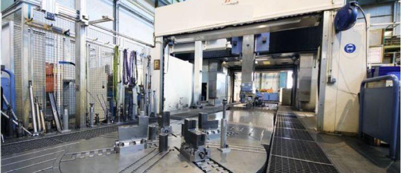 Heyligenstaedt gantry type milling machine