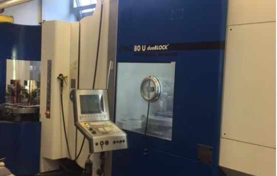 DMG DUO vertical machining center