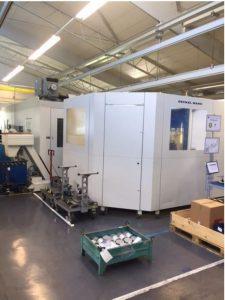 DMG DUO vertical machining center