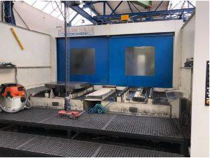 Huller Horizontal machining center