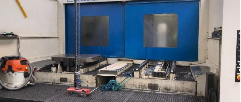 Huller Horizontal machining center