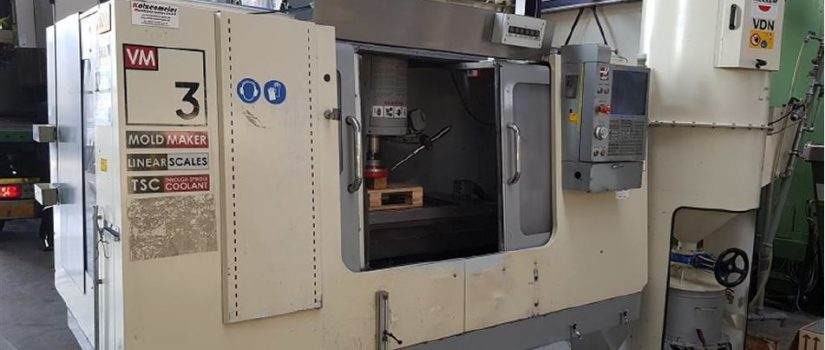 Haas VM-3HE Machining Center