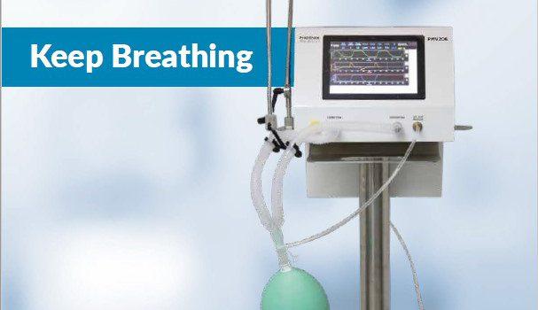 Ventilator for respiratory purposes for Covid19