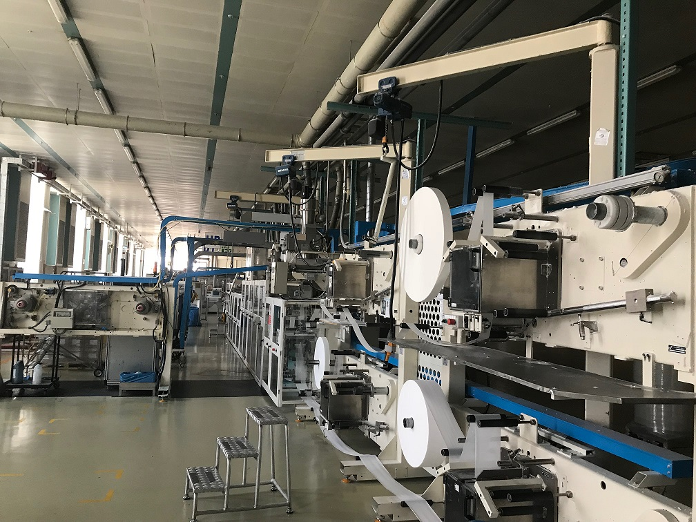 Fameccanica Ultra Sanitary napkin machine